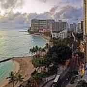 Waikiki At Twilight Poster