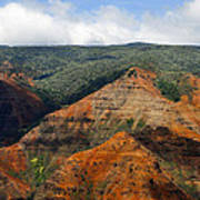 Waimea Canyons Poster