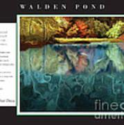 Walden Pond Poster