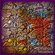 Wall Paper Abstract Poster