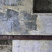 Wall Texture Number 12 Poster
