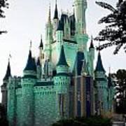 Walt Disney Castle Poster