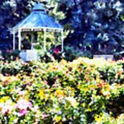 War Memorial Rose Garden  3 Poster