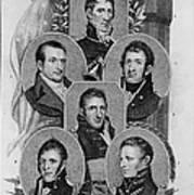 War Of 1812: Generals Poster