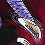 Warped Music Poster by Steve Ohlsen
