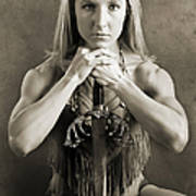 Warrior Woman Poster by Cindy Singleton