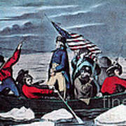 Washington Crossing The Delaware, 1776 Poster