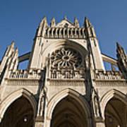 Washington National Cathedral Entrance Poster