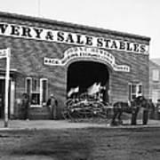 Washington: Stables, 1865 Poster