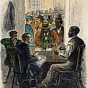 Washington: Voting, 1867 Poster
