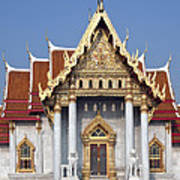 Wat Benchamabophit Ubosot Dthb180 Poster