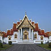 Wat Benchamabophit Ubosot Dthb279 Poster