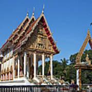 Wat Kan Luang Ubosot Dthu179 Poster