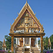 Wat Kan Luang Ubosot Gate Dthu181 Poster