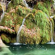 Water Cascade Poster