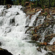 Water In Motion Glen Alpine Falls Poster