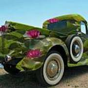 Water Lily Truck Poster