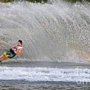 Water Skiing 16 Poster