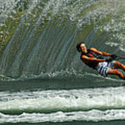Water Skiing Magic Of Water 1 Poster