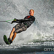 Water Skiing Magic Of Water 20 Poster