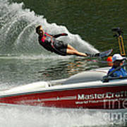 Water Skiing Magic Of Water 26 Poster