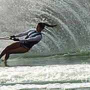Water Skiing Magic Of Water 32 Poster