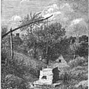 Water Well, C1880 Poster
