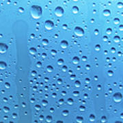 Waterdrops Poster