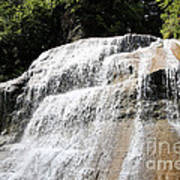 Waterfall At Treman State Park Ny Poster