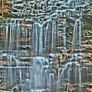 Waterfall Highights Poster