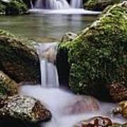 Waterfall, Peter Lougheed Provincial Poster