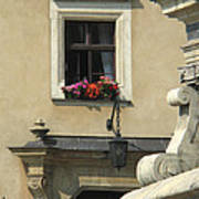 Wawel Flower Box And Achitecture Poster