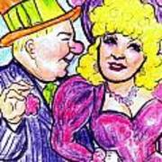 W.c. Fields And Mae West Poster