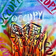 We Occupy Poster by Tony B Conscious