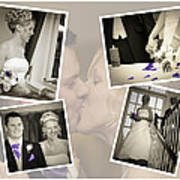 Wedding Album Page - Fine Art Poster