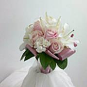 Wedding Bouquet Poster by Lali Partsvania