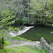 Weir Below Lover's Leap - Dovedale Poster