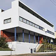 Weissenhof Settlement - Le Corbusier Building Poster