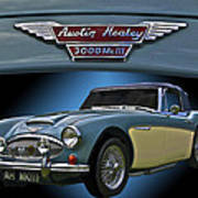 Well Heeled Healey Poster