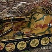 Wespe 105 Mm Self-propelled Gun Poster