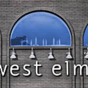 West Elm Poster