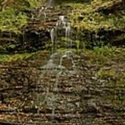 West Virginia Waterfall Poster