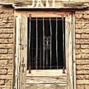 Western Jail House Door Poster