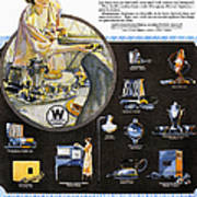 Westinghouse Ad, 1925 Poster by Granger