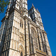 Westminster Abbey London Poster