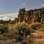 Westward Across The Mesa Poster