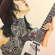 While My Guitar Gently Weeps Poster
