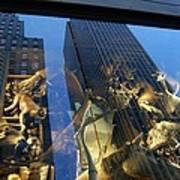 Monkeys On A Skyscraper Poster