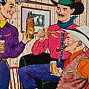 Whiskey Advertisement Poster