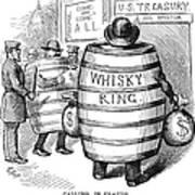 Whisky Ring Cartoon, 1875 Poster